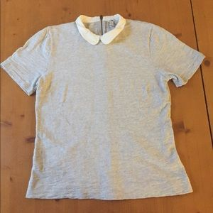 J. Crew Peter Pan Collar Tee
